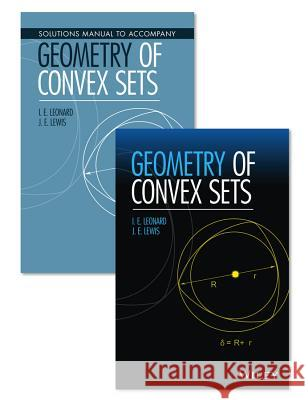 Geometry of Convex Sets Set I. E. Leonard J. E. Lewis 9781119184157 Wiley - książka
