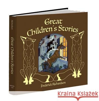 Great Children's Stories Frederick Richardson 9781606600856 Calla Editions - książka