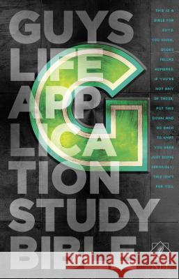 Guys Life Application Study Bible-NLT  9781414375137 Tyndale House Publishers - książka