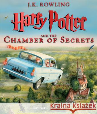 Harry Potter and the Chamber of Secrets: The Illustrated Edition (Harry Potter, Book 2) J. K. Rowling Jim Kay 9780545791328 Arthur A. Levine Books - książka