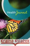 Health Journal: 50 Pages, 5.5- X 8.5- Monarch Butterfly