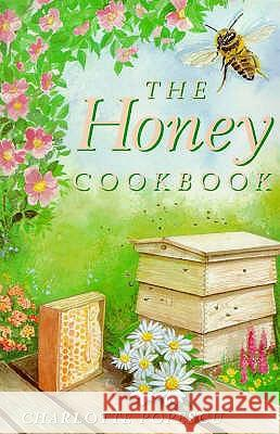 HONEY COOKBOOK Charlotte Popescu 9781899470358 CAVALIER PAPERBACKS - książka