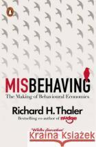 Misbehaving Thaler, Richard H. 9780241951224 Penguin UK
