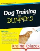 Dog Training for Dummies  Volhard 9780470600290 0