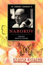 The Cambridge Companion to Nabokov Julian W. Connolly 9780521536431 Cambridge University Press