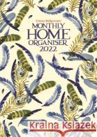 Emma Bridgewater Blue Feather A3 Planner Calendar 2022  9781529815436 CAROUSEL CALENDARS 2022