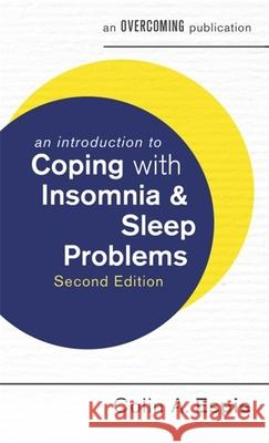 Introduction to Coping with Insomnia and Sleep Problems  Espie, Colin A. 9781472138545  - książka