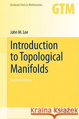 Introduction to Topological Manifolds  Lee 9781441979391  - książka