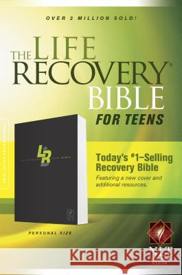Life Recovery Bible for Teens-NLT-Personal Size David Stoop 9781414387574 Tyndale House Publishers - książka