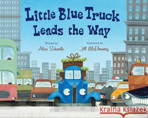 Little Blue Truck Leads the Way Big Book Alice Schertle Jill McElmurry 9780547850603 Houghton Mifflin Harcourt (HMH) - książka