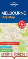 Lonely Planet Melbournecity Map Lonely Planet 9781786575029 Lonely Planet