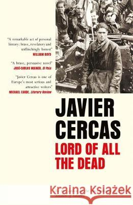 Lord of All the Dead Javier Cercas 9780857058355 Quercus Publishing - książka