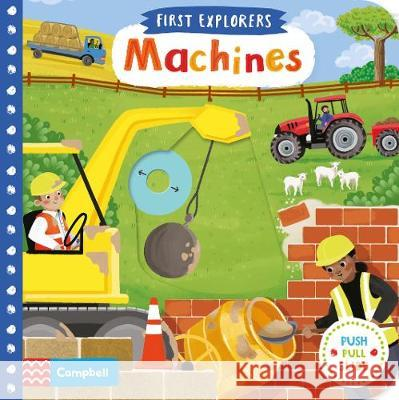 Machines Campbell Books 9781509898343 Pan Macmillan - książka
