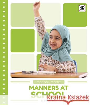 Manners at School Emma Bassier 9781644942949 Pop! - książka