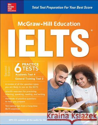 McGraw-Hill Education Ielts, Second Edition Monica Sorrenson 9781259859564 McGraw-Hill Education - książka