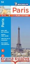 Michelin Paris Street Map + Index Map 54  9782067211568 Michelin Travel Publications
