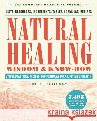 Natural Healing Wisdom & Know How: Useful Practices, Recipes, and Formulas for a Lifetime of Health Amy Rost 9780316276979 Black Dog & Leventhal Publishers - książka