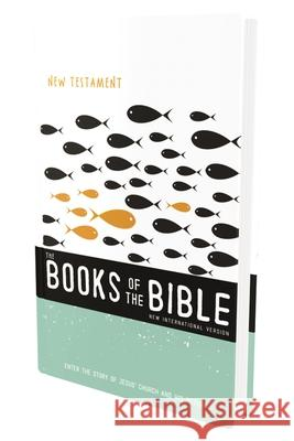 NIV, the Books of the Bible: New Testament, Hardcover: Enter the Story of Jesus' Church and His Return Biblica 9780310448020 Zondervan - książka