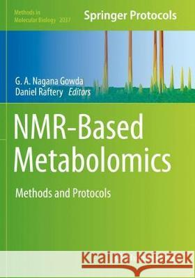 NMR-Based Metabolomics  9781493996926 Springer New York - książka