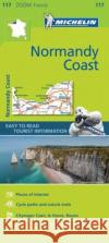 Normandy Coast Zoom Map 117  0 9782067217850 Michelin Zoom Maps