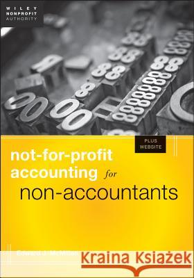 Not-for-Profit Accounting for Non-Accountants Edward J McMillan 9781118348277  - książka