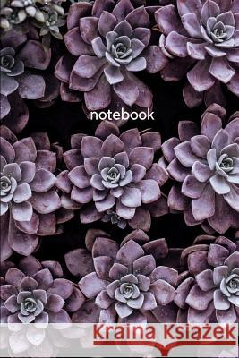 notebook: purple succulent Mona Rei 9781076827555 Independently Published - książka