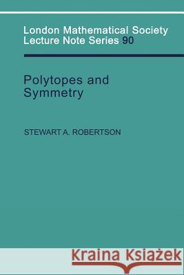 Polytopes and Symmetry