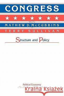 Congress : Structure and Policy