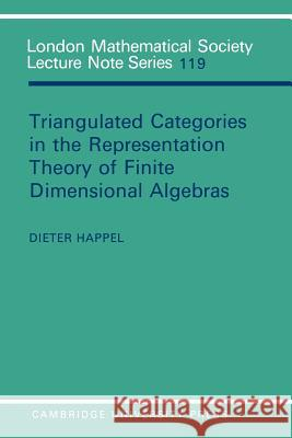 Triangulated Categories in the Representation of Finite Dimensional Algebras