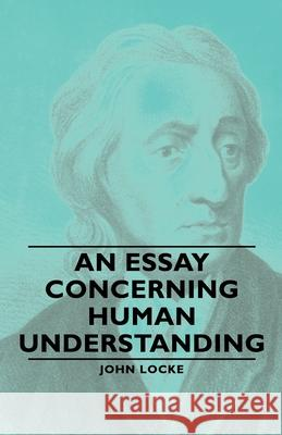 an essay on human understanding locke