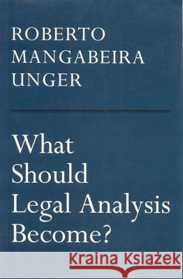 What Should Legal Analysis Become?