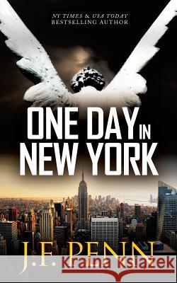 One Day in New York J. F. Penn 9781912105670 Curl Up Press - książka