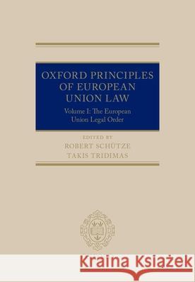 Robert Schutze European Union Law