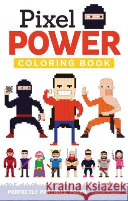 Pixel Power: Perfectly Portable Pages Dmitrii Vlasov 9781497200418 Design Originals - książka