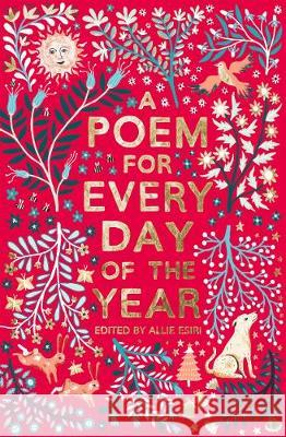Poem for Every Day of the Year  Esiri, Allie 9781509860548  - książka