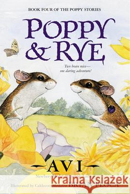 Poppy and Rye Avi                                      Brian Floca 9780380797172 Avon Books - książka