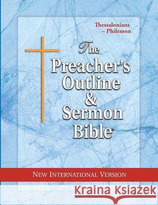 Preacher's Outline & Sermon Bible-NIV-Thessalonians-Philemon Leadership Ministries Worldwide 9781574070859 Leadership Ministries Worldwide - książka