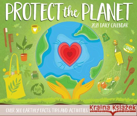 Protect the Planet 2021 Box Calendar Willow Creek Press 9781549215155 Willow Creek Press Calendars - książka