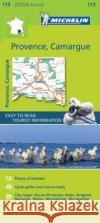 Provence, Camargue Zoom Map 113  0 9782067217768 Michelin Zoom Maps