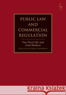 Public Law and Commercial Regulation   9781849463126 Hart Publishing - książka