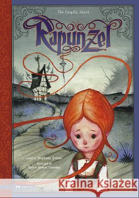 Rapunzel: The Graphic Novel Stephanie True Peters 9781434213921 Graphic Spin - książka