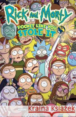 Rick and Morty: Pocket Like You Stole It Tini Howard Marc Ellerby Katy Farina 9781620104743 Oni Press - książka