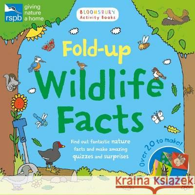 RSPB: Fold-Up Wildlife Facts  0 9781408888636 Chameleons - książka