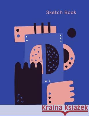 Sketch Book: Coffee bean Lovers Notebook with an abstract Illustation on the cover for Drawing, Writing, Painting, Sketching or Doo Sketch Books for Art 9781691076987 Independently Published - książka