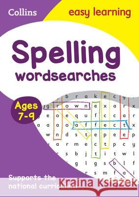 Spelling Word Searches: Ages 7-9 Collins UK 9780008212650 HarperCollins UK - książka