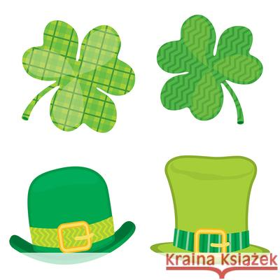 St. Patrick's Day Mini Cut-Outs Carson-Dellosa Publishing 9781483836652 Carson Dellosa Publishing Company - książka