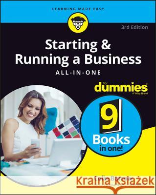 Starting and Running a Business All-In-One for Dummies Barrow, Colin 9781119152156 John Wiley & Sons - książka