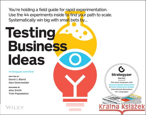 Testing Business Ideas David Bland 9781119551447 Wiley - książka