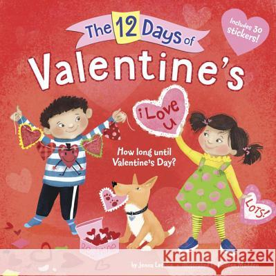 The 12 Days of Valentine's Jenna Lettice Colleen Madden 9780399557354 Random House Books for Young Readers - książka