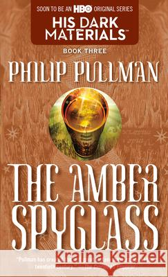 The Amber Spyglass Philip Pullman 9780440238157 Laurel-Leaf Books - książka